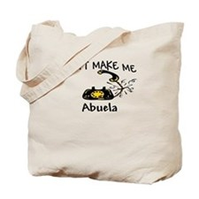 Call Abuela Black Phone Tote Bag