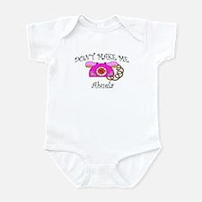 Call Abuela Pink Phone Infant Bodysuit