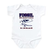 Fossil Deinonychus Infant Bodysuit