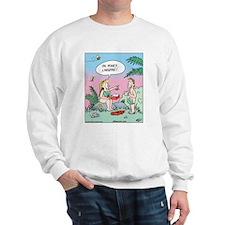 Adam Eve Lingerie Sweatshirt