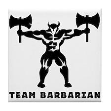 Barbarian Tile Coaster