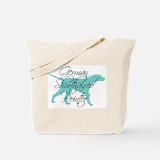 Elegant Teal GSP Tote Bag