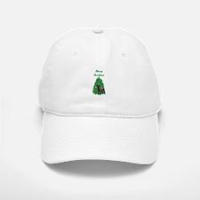 Merry Christmas Labrador Baseball Baseball Cap