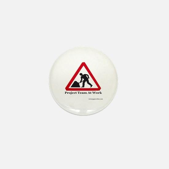 Project management Mini Button