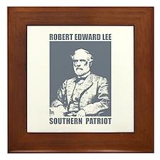 Robert E Lee Framed Tile