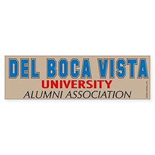 Del Boca Vista University Bumper Bumper Sticker