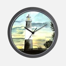 Tybee Island Lighthouse Fine Wall Clock