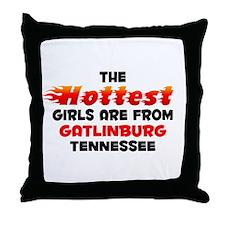 Hot Girls: Gatlinburg, TN Throw Pillow