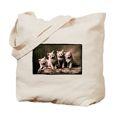 The Aristocrats Vintage Kitte Tote Bag