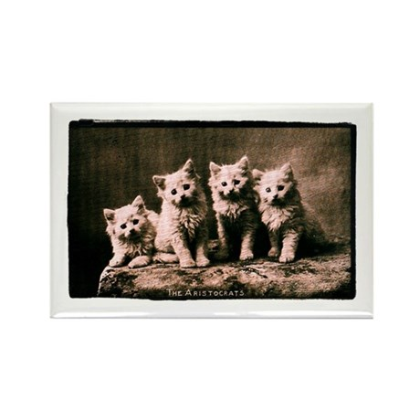 The Aristocrats Vintage Kitte Rectangle Magnet (10