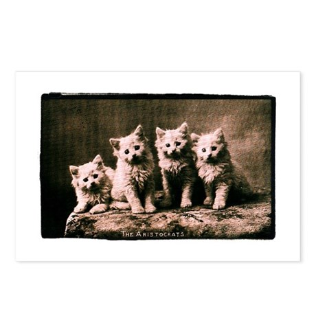 The Aristocrats Vintage Kitte Postcards (Package o