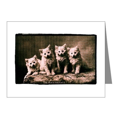 The Aristocrats Vintage Kitte Note Cards (Pk of 20