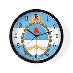 Argentina Flag Wall Clock