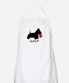 Great Scott Heart BBQ Apron