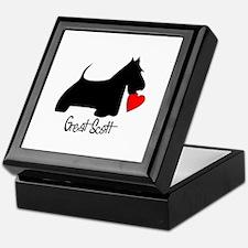 Great Scott Heart Keepsake Box