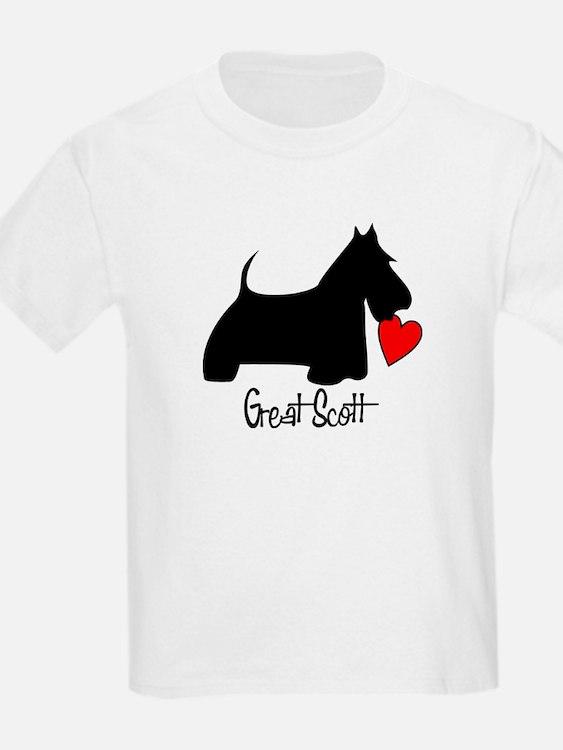 Great Scott Heart T-Shirt