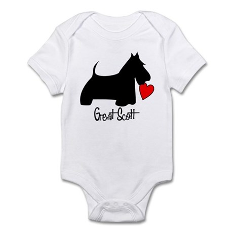 Great Scott Heart Infant Bodysuit