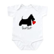 Great Scott Heart Infant Bodysuit
