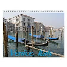 venice calendar Wall Calendar