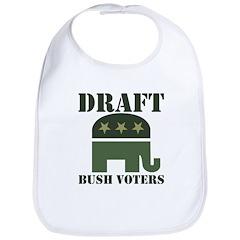 DRAFT BUSH VOTERS Bib