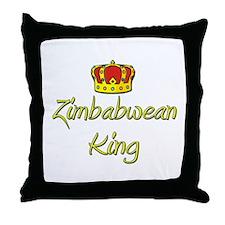 Zimbabwean King Throw Pillow
