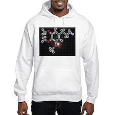 Mescaline molecule Hoodie