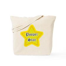 Pooper Star Tote Bag