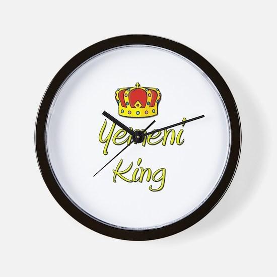Yemeni King Wall Clock
