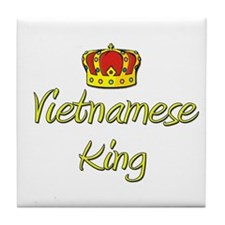 Vietnamese King Tile Coaster