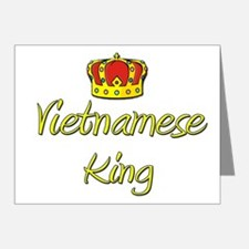 Vietnamese King Note Cards (Pk of 20)
