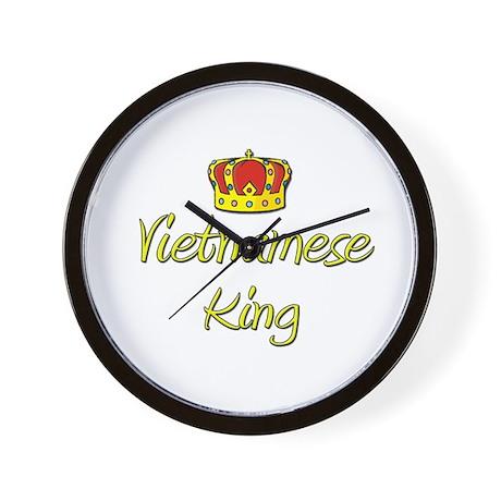 Vietnamese King Wall Clock