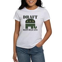 DRAFT REPUBLICANS Women's T-Shirt