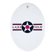 Lajes Field Oval Ornament