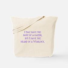 Heart of a Warlock Tote Bag