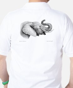 Lucky Elephant ~ Golf Shirt (Two Sides)
