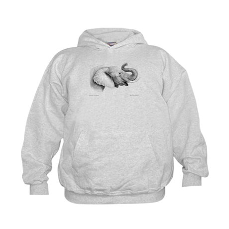 Lucky Elephant ~ Kids Hoodie (Two Sides)