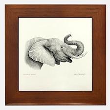 Lucky Elephant ~ Framed Tile