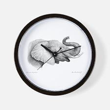 Lucky Elephant ~ Wall Clock