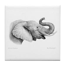Lucky Elephant ~ Tile Coaster