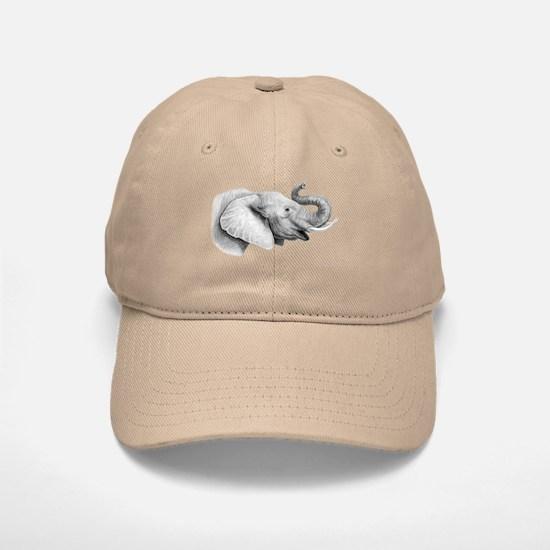 Lucky Elephant ~ Baseball Baseball Baseball Cap