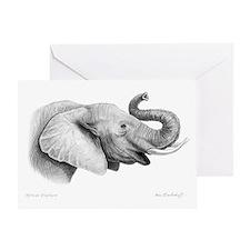Lucky Elephant ~ Greeting Card