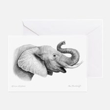 Lucky Elephant ~ Greeting Card
