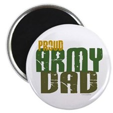 "Proud Army Dad 1 2.25"" Magnet (100 pack)"