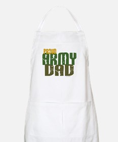 Proud Army Dad 1 BBQ Apron