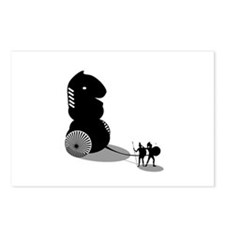 Chess - Trojan Horse Postcards (Package of 8)