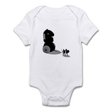 Chess - Trojan Horse Infant Bodysuit