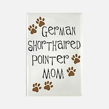 G. Shorthaired Pointer Mom Rectangle Magnet