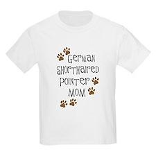 G. Shorthaired Pointer Mom T-Shirt