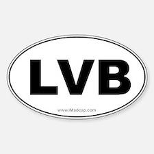 LVB Car Oval Decal
