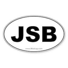 JSB Car Oval Decal